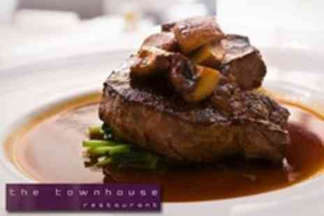The Townhouse - Two Course European Meal For Two - Save 50%