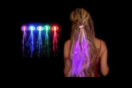 London Exchain Store - Four piece set of Led hair extensions - Save 75%