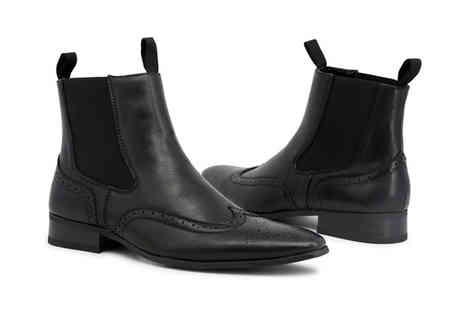 Brands Store - Pair of Duca Di Morrone Chelsea ankle boots choose from seven designs - Save 77%