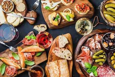 Elianos Brasserie - Italian Afternoon Tea with Glass of Prosecco for Two or Four - Save 38%