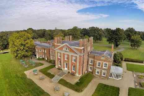 Warbrook House Hotel - Four Star Overnight escape for two people with breakfast, two course dinner each - Save 44%