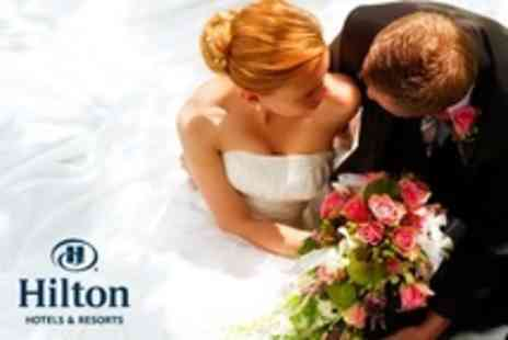 Hilton Southampton Hotel - Wedding Package With Three Course Wedding Breakfast For 50 Guests and Evening Reception For 80 Guests - Save 48%