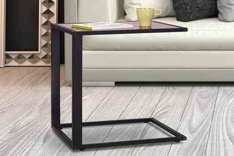 Aosom - C shaped sofa side table - Save 52%