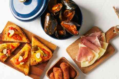 Parliament Bar and Kitchen - Six or 12 Tapas to Share for Two - Save 45%