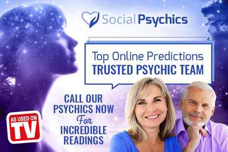 Social Psychics - 20 minute psychic tarot reading by phone - Save 58%