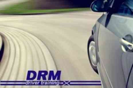 DRM Driver Training - Three One Hour Driving Lessons - Save 65%
