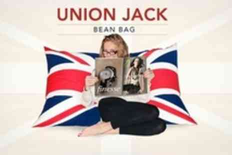 BuyYourBeanBags.co.uk - Two Large Union Jack or Ireland Beanbags - Save 57%