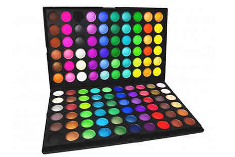 Impress Gadgets - 120 Colour Eyeshadow Palette - Save 75%