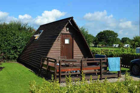 Harrisons Leisure - Overnight countryside Glamping stay for two people - Save 0%