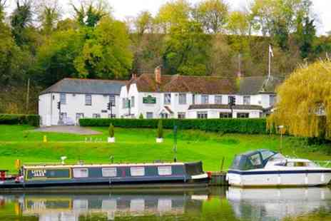 Shillingford Bridge Hotel - Standard Double or Twin Room for Two with Breakfast and Two Course Dinner - Save 23%