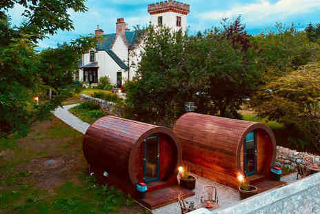 Delny Glamping - Two night glamping stay for two people - Save 44%