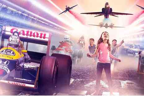 Silverstone Heritage - Entry for one adult and one child to The Silverstone Experience - Save 33%