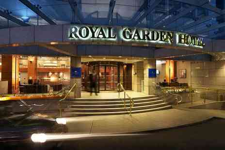 Royal Garden Hotel - Five Star Chic Design Overlooking Hyde Park & Included Cruise for two - Save 63%