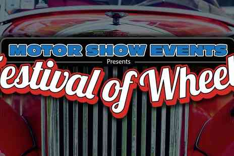 Motorshow Events - Early Bird Camping Tickets for the Festival of Wheels A Weekend of Non Stop Family Fun - Save 44%