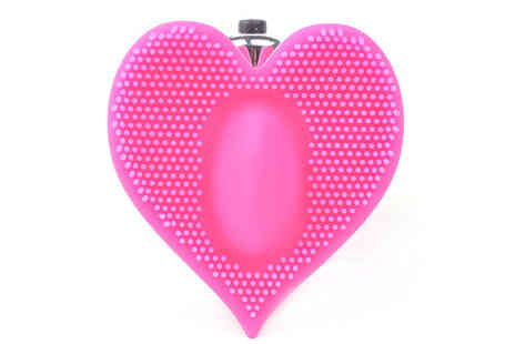 Femme Care Boutique - Power pro silicone heart shape vibrator pad - Save 80%