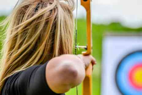 Adventure Sports - Air Pistol and Air Rifle Range Shooting with Archery and Axe Throwing for One or Two - Save 49%