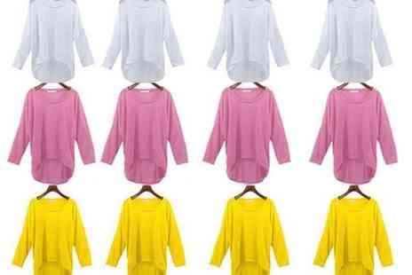 Verso Fashion - Oversized jumper Choose three colours - Save 75%