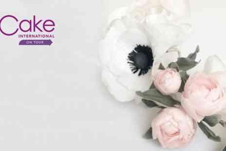 ICHF - One, two or four day tickets to Cake International on Tour on 4 To 6 April - Save 21%