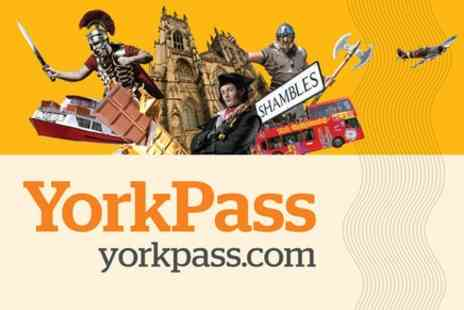 Make It York - 6 Day York and Beyond Explorer Pass - Save 0%