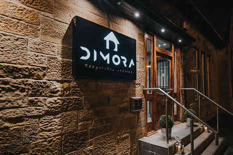Dimora - Three course meal for two people - Save 50%