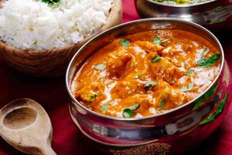 Chartwell Arms - Curry with Naan and Rice or Chips and Beer for Two or Four - Save 30%
