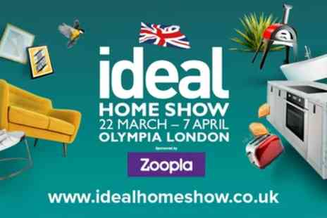 The Ideal Home Show - Two tickets to The Ideal Home Show with one magazine on 22 March To 27 May - Save 56%