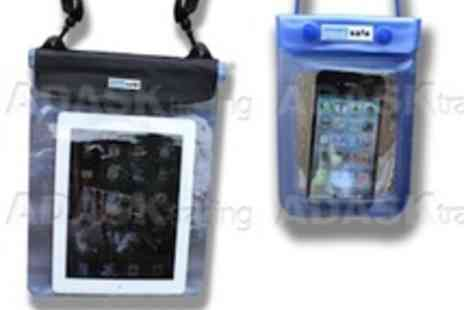 Adask Trading - A pair of aqua safe bags for iPhone and iPad or tablet - Save 52%