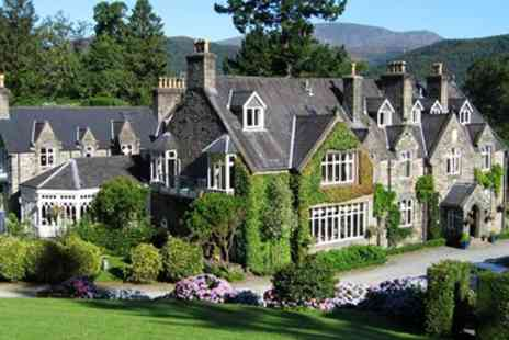 Penmaenuchaf Hall Hotel - Two nights Snowdonia stay with meals and bubbly - Save 50%