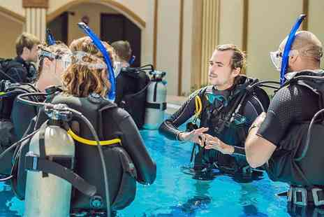 Scuba School - Beginners Try Scuba Diving session for one person - Save 51%