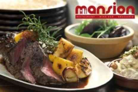Mansion Wine Bar - Sunday Lunch For Two Plus Cocktails, Nibbles and Loyalty Card Pre loaded - Save 62%