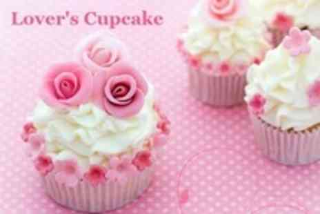 Lovers Cupcake - Cupcake Decorating Class For Two - Save 50%