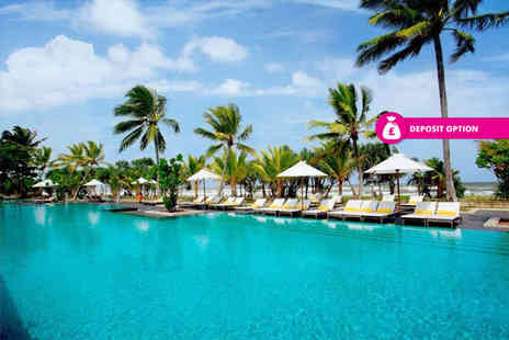 Great Pacific Travels - 10 nights half board plus Sri Lanka getaway with return flights - Save 49%