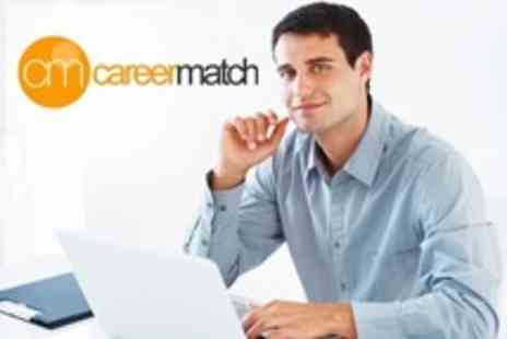 Career Match - One Year's Access to Online Career Service and CV Builder for £39 with Career Match (93% Off) - Save 93%