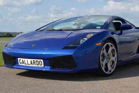 Experience Megastore - Ferrari or Lamborghini Experience for Ages 12 To 16 - Save 10%