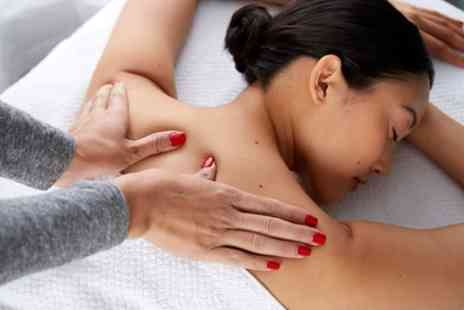Peachy Peel - One Hour Swedish Massage or 30 Minute Shiatsu Facial and 30 Minute Deep Tissue Massage - Save 62%