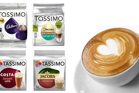 Express Coffee Retail - Tassimo Coffee Pods Available in 70 Flavours - Save 68%