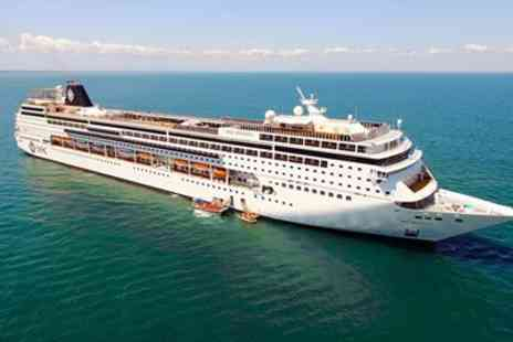 Cruise Nation - 12 nights Greek Isles cruise with Genoa stay - Save 0%