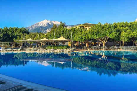 Travel Center - Five Star seven nights all inclusive Kemer, Turkey getaway and flights - Save 35%