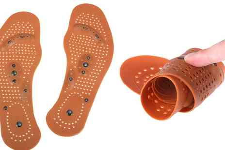 Groupon Goods Global GmbH - One or Two Pairs of Magnetic Insoles - Save 85%