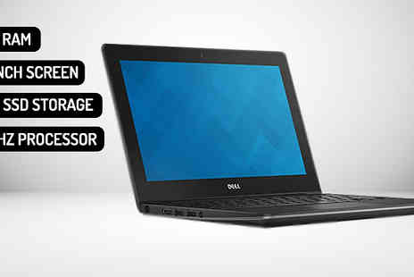 Smart IT Technologies - Dell 11.6 Inch ChromeBook with 4Gb Ram And 16Gb Ssd With Free Delivery - Save 77%