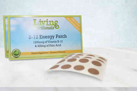 Seated Toad - Two month supply of B-12 energy patches, Four month supply, or Six month supply - Save 0%