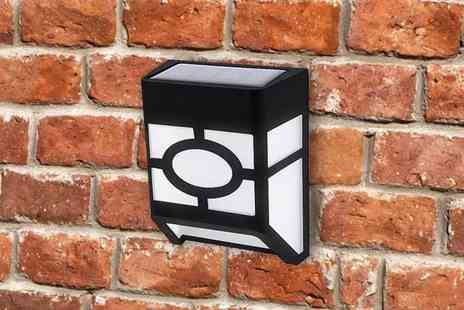 Magic Trend - Multi set of solar deck wall fence light - Save 74%