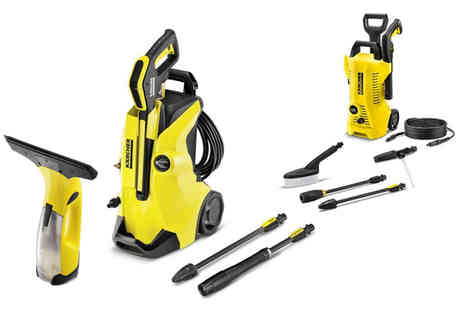 Trojan Electronics - Window vacuum cleaner, Karcher K2 full control car and home pressure washer - Save 0%