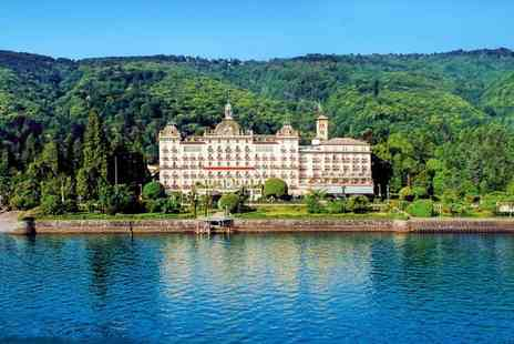 Grand Hotel Des Iles Borromees - Five Star Luxury Lakeside Spa Hotel for two - Save 78%