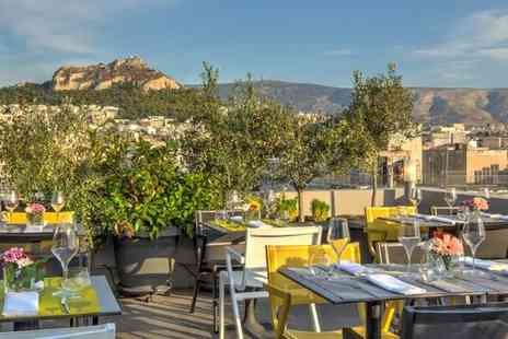 Polis Grand Hotel - Central City Hotel with Acropolis Views for two - Save 49%