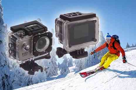 SPOT PROMOTIONS - Waterproof action camera or include a 16GB memory card - Save 78%