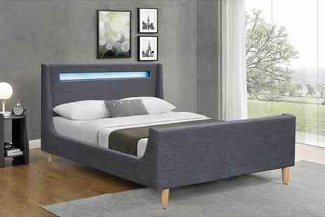 Envisage Home - Cavalli Led bed or include a mattress choose from two sizes - Save 74%