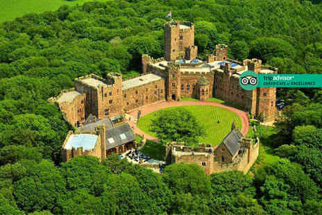 Peckforton Castle - Spa day for one person including two 25 minute treatments and a glass of Prosecco - Save 45%