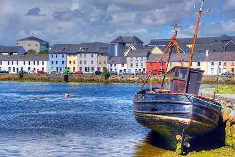 The Coach House Hotel - Overnight Oranmore stay for two people with breakfast, main course with a glass of wine each and late checkout - Save 46%