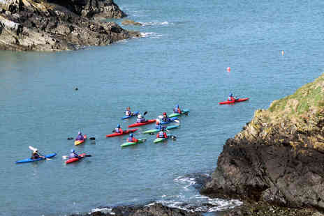 Virgin Experience Days - Sea Kayaking Coastal Adventure for Two - Save 0%